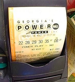 Power Ball Lottery Ticket