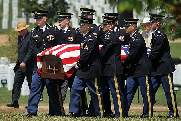 Army Staff Sgt. Killed In Afghanistan Buried At Arlington Nat'l Cemetery