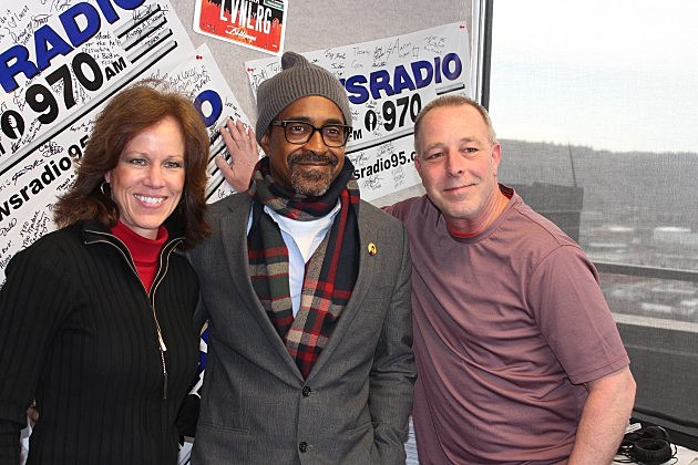 Tim Meadows on the Billings Morning News Show