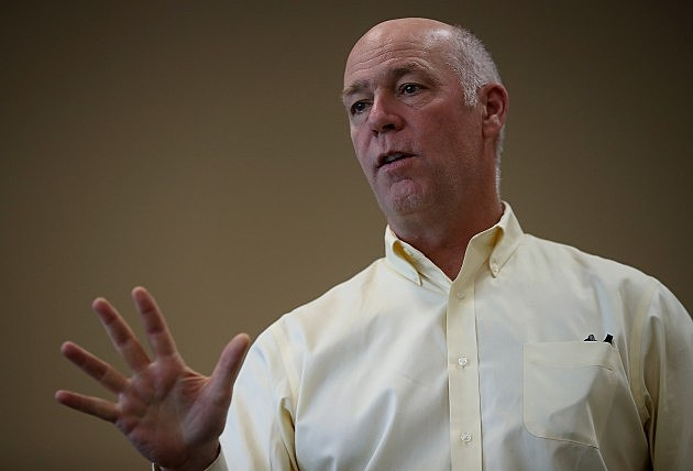GOP Candidate In Montana's Special Congressional Election Greg Gianforte Campaigns In Missoula